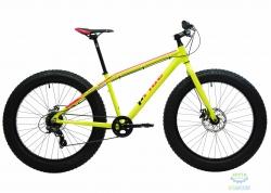 Велосипед 26&quot Pride Trophy 1.0 рама - XL желтый неон/красный лак 2017