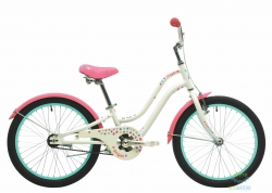 Велосипед 20 Pride Angel Белый/розовый Лак 2017