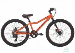 Велосипед 24 Pride Pilot 7 Оранжевый/Черный/Красный Лак 2017