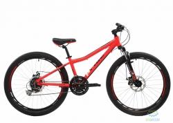 Велосипед 24&quot Pride Pilot Race Красный/черный/белый Лак 2017