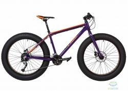 Велосипед 26&quot Pride Trophy 2.0 рама - XL фиолетовый/оранжевый лак 2017