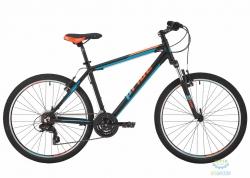 Велосипед 26&quot Pride Marvel 1.0 рама - 21 черный/голубой/оранжевый 2017