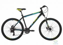 Велосипед 26 Pride Marvel 2.0 рама - 17 черный/голубой/лайм 2017