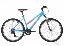 Велосипед 26&quot Pride Stella 1.0 рама - 18 бирюзовый/малиновый/голубой 2017