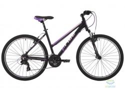 Велосипед 26&quot Pride Stella 1.0 рама - 20 черный/розовый/сиреневый 2017