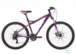 Велосипед 26 Pride Stella 3.0 рама - 16 тёмно-фиолетовый/розовый/серый 2017