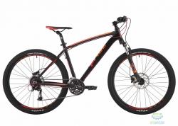 Велосипед 27,5 Pride Rebel 7.3 рама - 21 черный/оранжевый/красный 2017