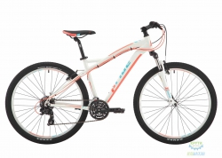 Велосипед 27,5&quot Pride Roxy 7.1 рама - 16 белый/коралловый/бирюзовый 2017