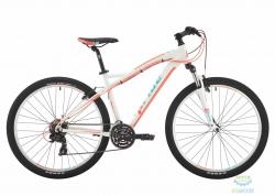 Велосипед 27,5 Pride Roxy 7.1 рама - 18 белый/коралловый/бирюзовый 2017