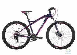 Велосипед 27,5&quot Pride Roxy 7.2 рама - 16 тёмно-синий/малиновый/мятный 2017