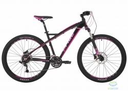 Велосипед 27,5&quot Pride Roxy 7.3 рама - 18 черный/малиновый/розовый 2017