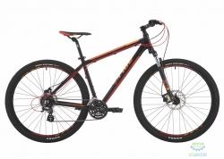 Велосипед 29 Pride Rebel 9.2 рама - 21 черный/красный/оранжевый 2017