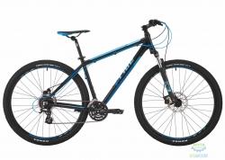 Велосипед 29&quot Pride Rebel 9.2 рама - 21 черный/синий/голубой 2017