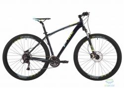 Велосипед 29 Pride Rebel 9.3 рама - 21 тёмно-синий/лайм/голубой 2017