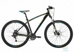 Велосипед 29 Pride Rebel 9.4 рама - 21 черный/зелёный/жёлтый 2017