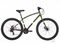 Велосипед 27,5 Pride Rocksteady 7.1 рама - L хаки/черный 2018