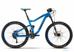 Велосипед Haibike Q.AM 7.10 27.5, рама 44см, blue, 2016