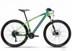 Велосипед Haibike Freed 7.40 27.5, рама 45см, черно-зеленый, 2016