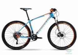 Велосипед Haibike Freed 7.50 27.5, рама 45см, cyan 2016