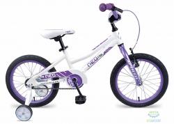 Велосипед 16 Apollo Neo girls 2017 Gloss White/Gloss Lavender