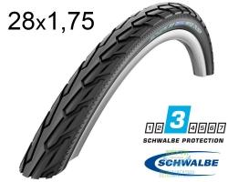 Покрышка 28x1.75 (47x622) Schwalbe RANGE CRUISER HS457 K-Guard B/B+RT SBC