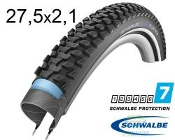 Покрышка 27.5x2.10-650B (54x584) Schwalbe MARATHON PLUS MTB SmartGuard B/B+RT HS468 DC