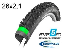 Покрышка 26x2.10 (54-559) Schwalbe SMART SAM PLUS GreenGuard,SnakeSkin B/B-SK HS476 DC 67EPI