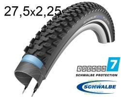 Покрышка 27.5x2.25 650B (57-584) Schwalbe MARATHON PLUS MTB SmartGuard B/B+RT HS468 DC 67EPI 36B