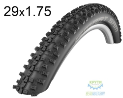 Покрышка 29x1.75 (47-622) Schwalbe SMART SAM Performance B/B-SK HS476 DC 67EPI
