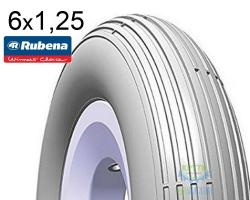 Покрышка 6x1.1/4 (32-088) MITAS (RUBENA) COACH V12 Pre Classic серая