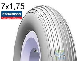 Покрышка 7x1 3/4 MITAS (RUBENA) COACH V12 Pre Classic серая