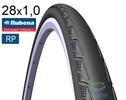 Покрышка 700 x25C (25x622) RUBENA SYRINX V80 Racing Pro черная