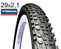 Покрышка 29x2.10 (54x622) MITAS (RUBENA) OCELOT V85 CHALLENGE 29TPI, Optimal Compound, Non-Tubeless черная
