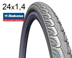 Покрышка 24 x 1 3/8 (37x540) MITAS (RUBENA) HOOK V69 Classic серый для колясок