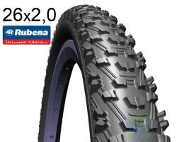 Покрышка 26 x 2.0 (52x559) RUBENA CHARYBDIS V76 Sport (SW) черная