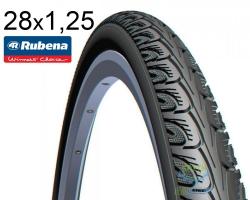 Покрышка 28 x 1 1/4x1 3/4 (32x622) RUBENA HOOK V69 Classic черная