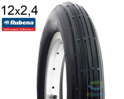 Покрышка 12 x 1/2x2 1/4 (62x203) MITAS (RUBENA) JUMBO V20 Pre Classic 22 черная