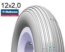 Покрышка 200 х 50 (50x94) MITAS (RUBENA) JUMBO V20 Pre Classic серый
