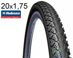 Покрышка 20x1.75*2 (47x406) MITAS (RUBENA) SHIELD V81 Clever Face Classic черная