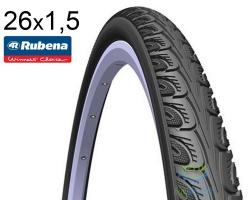 Покрышка 26x1 1/2 (40x584) MITAS (RUBENA) HOOK V69 Classic черная