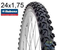 Покрышка 24 x 1.75*2 (47x507) RUBENA RAPID V36 Classic черная