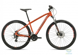 Велосипед Orbea MX 27 40 L Black-orange 2017