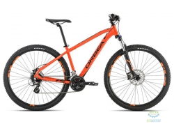 Велосипед Orbea MX 27 40 L Orange-Black 2016