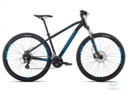 Велосипед Orbea MX 27 40 M Black-Blue 2016
