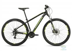 Велосипед Orbea MX 27 40 S Black-green-yellow 2017