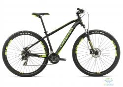 Велосипед Orbea MX 27 50 L Black-green-yellow 2017