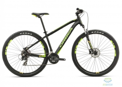 Велосипед Orbea MX 27 50 S Black-green-yellow 2017