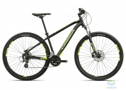 Велосипед Orbea MX 29 40 XL Black-green-yellow 2017