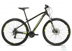 Велосипед Orbea MX 29 40 XL Black-green-yellow 2017