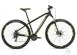 Велосипед Orbea MX 29 50 XL Black-green-yellow 2017